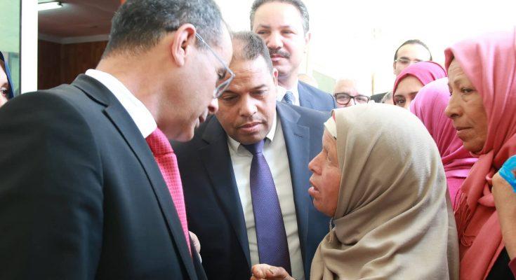 """ريانة : الهادي الماكني يعطي إشارة انطلاق منظومة """"أحميني"""" لـ 650 إمرأة عاملة في المجال الفلاحي.-التيماء"""
