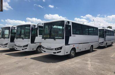 حافلات من قطر لبلديات ولاية توزر-التيماء