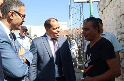 لتحسين ظروف عيش مواطنيها : الهادي الماكني يزور الأحياء الشعبية بولاية باجة-التيماء