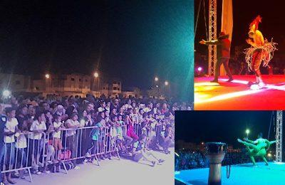 مهرجان ليالي سليمان : اقبال جماهيري غفير وتواصل للعروض الفولكلورية الإستعراضية -التيماء
