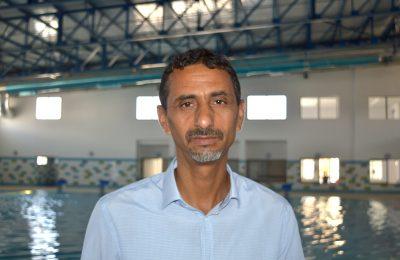 مدير المسبح نصف اولمبي البلدي الجديد بسيدي بوزيد مختار الحامدي-التيماء
