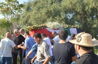 تشييع جثمان فقيد الساحة الثقافية المخرج التلفزي و السنمائي شوقي الماجري-التيماء