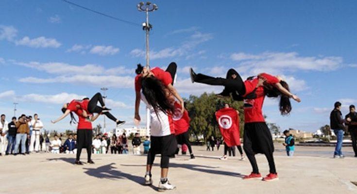 بمشاركة اكثر من 300 شاب و شابة القيروان تحتفل بتونس عاصمة الشباب العربي لسنة 2019