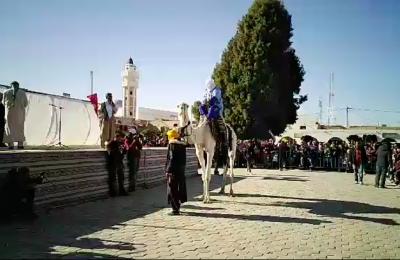 المهرجان الدولي للصحراء بدوز: مسابقة اجمل مهري بساحة الفنون وسط مدينة دوز-التيماء