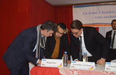 الجلسة العامة للغرفة الفتية الاقتصادية فرع تونس-التيماء