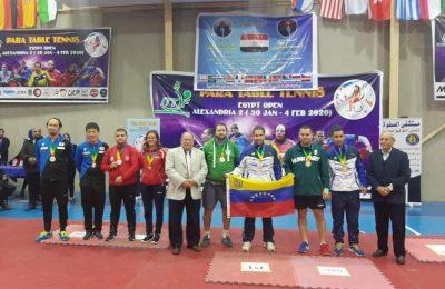 ميدالية فضية لكريم غرس الله في الدورة الدولية المفتوحة في كرة الطاولة بالإسكندرية-التيماء