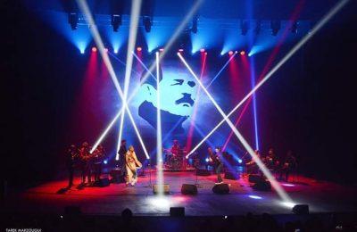 عرض مجموعة سينوج الدولية في افتتاح الملتقى العالمي شكري بلعيد للفنون-التيماء