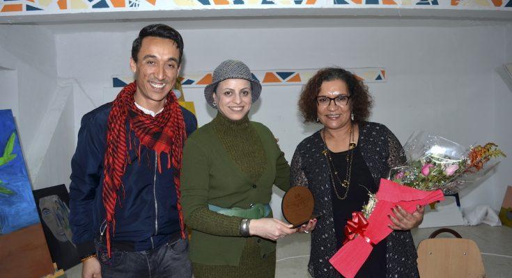 ليلى ناسمي شاعرة من المغربية المقيمة في تونس ضيفة بيت الهايكو-التيماء