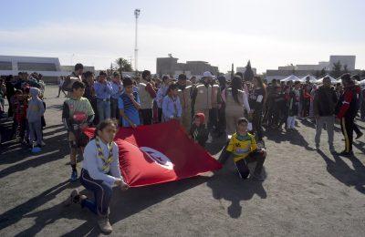"""مهرجان """"رياضة المواطنة"""" في دورته الأولى تظاهرة جمعت كل ابناء القلعة الكبرى-التيماء"""