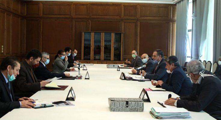 اجتماع مشترك بين وزارتي أملاك الدّولة والتعليم العالي والبحث العلمي -التيماء