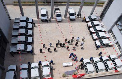 وزارة الشؤون المحلية تدعّم 19 بلديّة بسيارات خاصة بالشرطة البيئية