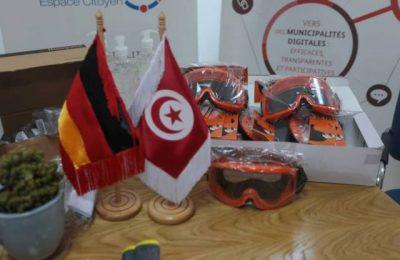 ألمانيا تدعم البلديات التونسية في مجال مكافحة فيروس كورونا المستجد