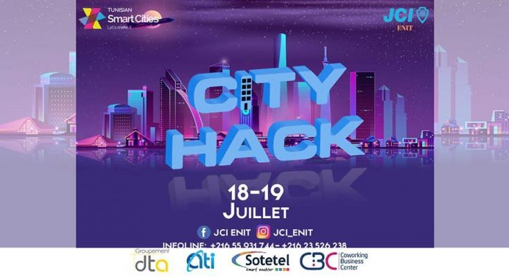 "Tunisian Smart Cities lance le ""City Hack"" en partenariat avec la JCI ENIT-التيماء"