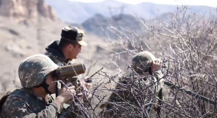 استفزاز القوات الارمنية لجمهورية أذربيجان-التيماء