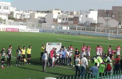 مستقبل سليمان-النادي الافريقي: 2-0-التيماء
