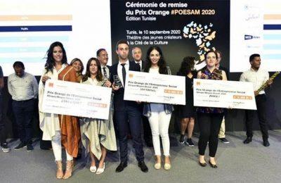 بمناسبة مرور 10 سنوات على إطلاقها: أورنج تونس تعلن عن الفائزين الثلاثة في المسابقة الوطنية للمشاريع الإجتماعية لمنطقة إفريقيا والشرق الأوسط لسنة 2020-التيماء