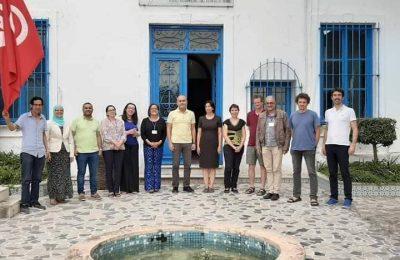 اللقاء الدولي للطلبة الرسامين من 10 الى 14 جويلية بضاحية سيدي بوسعيد -التيماء