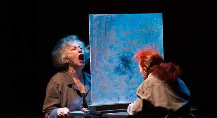"""المسرح الوطني التونسي في جولة عروض دولية: (ال)عنف و (ال)خوف لجليلة بكار و الفاضل الجعايبي في مهرجان """"إمباكت"""" بكندا-التيماء"""