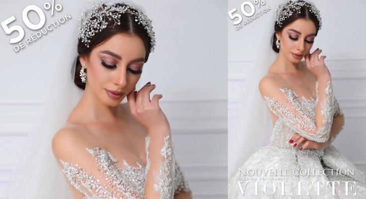 """""""قصة عشق"""" مجموعة تصاميم تونسية لفساتين اعراس 2020-التيماء"""