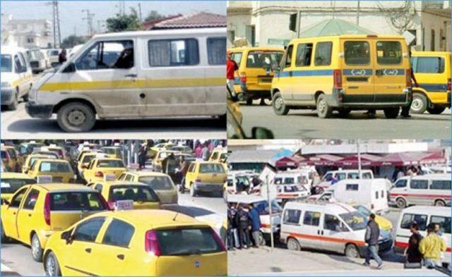 وزارة النقل:ايقاف سفرات الواج خط احمر، الواج خط ازرق ، النقل ريفي ، التاكسي جماعي-التيماء
