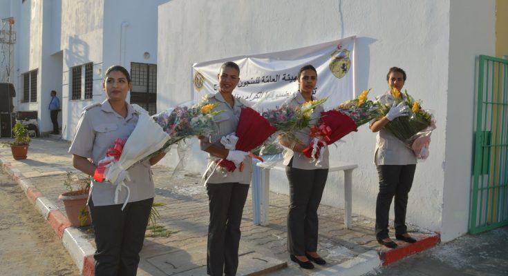 اكثر من 36 سجينة شاركت بالرقص والغناء والقاء الشعر في احتفالية عيد المرأة التونسية بسجن النساء بمنوبة-التيماء