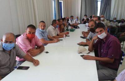 مدراء دائرة قرنبالية للمدارس الابتدائية والاعدادية-التيماء